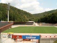 Stadium in Aue