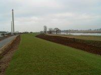 dike of the river Elbe