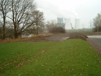 dike of the river Saale